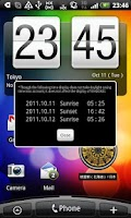 Screenshot of WADOKEI -Japanese Clock-