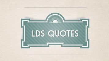Screenshot of LDS Quotes