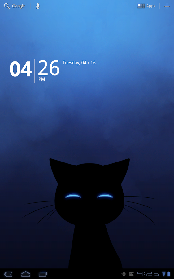 Stalker Cat Live Wallpaper Lt Screenshot 1