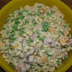 Pasta Salad - Peas, Ham and Cheese