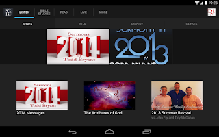 Screenshot of Sovereign Grace Baptist Church