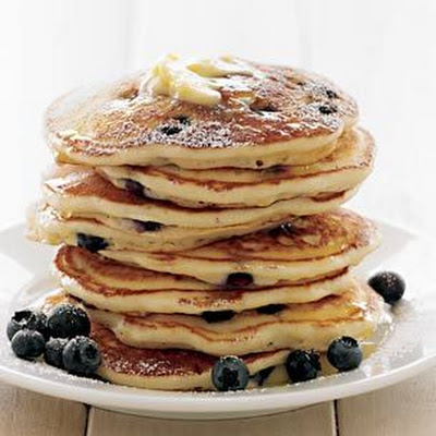 Blueberry-Buttermilk Pancakes