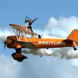 WING WALKER by Steven Carpenter - Transportation Airplanes