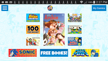 Screenshot of Archie Comics