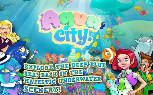 aqua-city-fish-empires for android screenshot