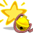 Lucky Bell Yellow -star- icon
