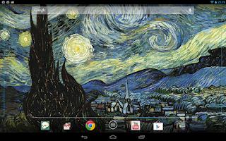 Screenshot of Starry Night 3D