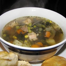 Lots of Veggies Crock Pot Chicken Soup