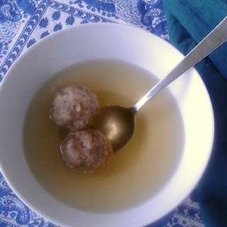 Vegan at Passover and Improved Matzo Ball Soup