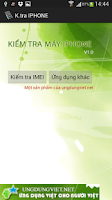 Screenshot of Kiem tra IPHONE   IPHONE