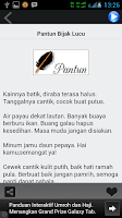 Screenshot of Pantun Lucu Jenaka