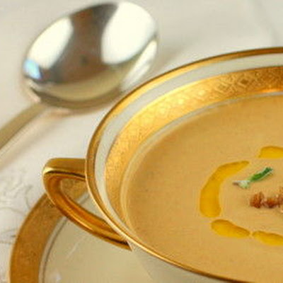 Roasted Chestnut Bisque