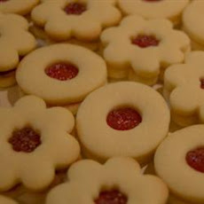 Sugar Free Sour Cream Linzer Cookies