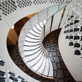 curved stairs by Almas Bavcic - Buildings & Architecture Architectural Detail