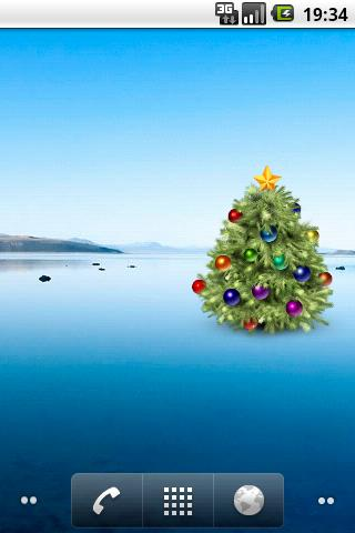 New Year Tree Widget