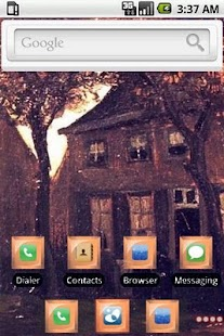The Vicarage [SQTheme] for ADW - screenshot