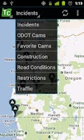 Screenshot of Oregon Trip Checker Free