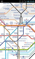 Screenshot of London Transport Planner