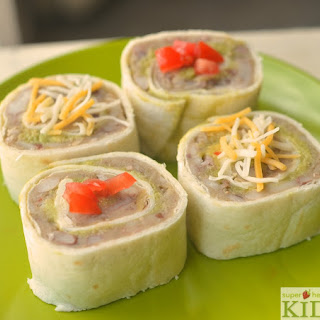 15 Bean Kids Mexican Sushi