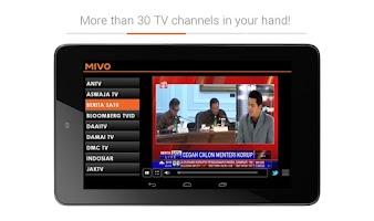 Screenshot of Mivo