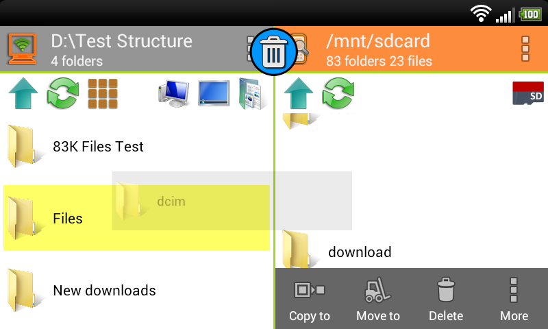 WiFi PC File Explorer Pro Screenshot 5
