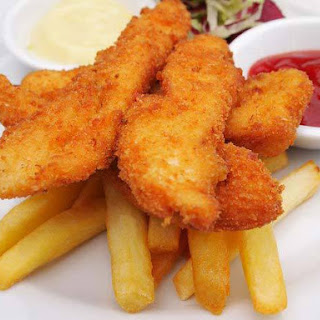 Chicken Fingers Without Bread Crumbs Recipes