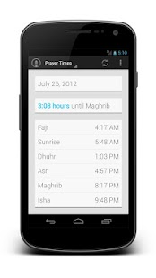 Muslim Prayer Times Pro - screenshot