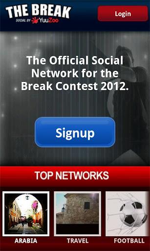 The Break social by YuuZoo