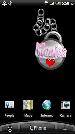 Monica Live Wallpaper
