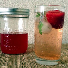 Strawberry Black Pepper Shrub