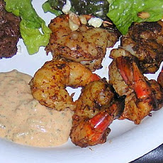 Barbecued Shrimp with Remoulade Sauce