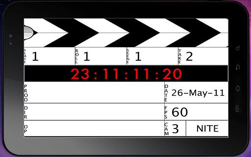 【免費媒體與影片App】Digital Slate-APP點子