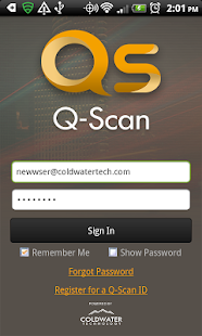Q-Scan Workforce Management - screenshot