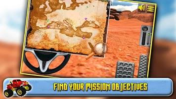 Screenshot of 3D Monster Truck Driving