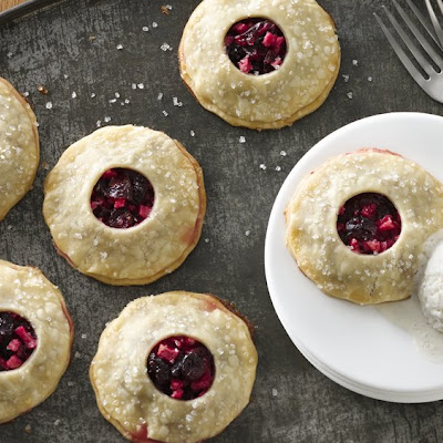 Apple Cranberry Mini Pies
