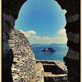 Little Skellig from Great Skellig:) by Rafal Sych - Instagram & Mobile iPhone