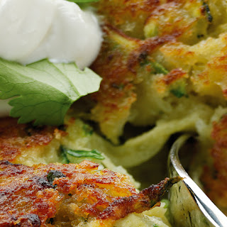 Zucchini Fritters With Greek Yogurt Recipes