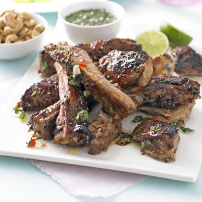 Thai Sticky Chicken & Ribs