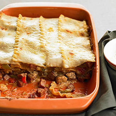 Andouille-Chicken Lasagna