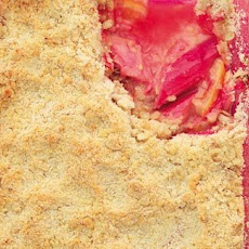 Rhubarb And Blood Orange Crumble