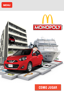 McD Monopoly - screenshot