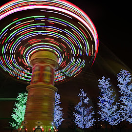 by Jie Jack - Abstract Light Painting ( mood, mood factory, holiday, christmas, hanukkah, red, green, lights, artifical, lighting, colors, Kwanzaa, blue, black, celebrate, tis the season, festive )