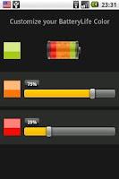 Screenshot of BatteryLife