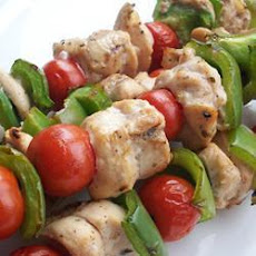 Tender Barbecue Chicken Kebabs
