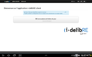 Screenshot of i-delibRE