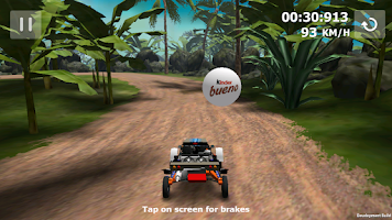 Screenshot of Kinder Bueno Buggy Race 3D