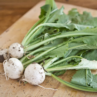 Fennel with Turnip Greens