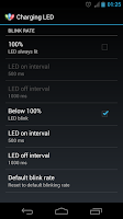 Screenshot of Charging LED