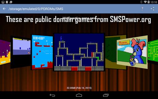MasterGear - SMS/GG Emulator - screenshot