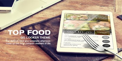 Screenshot of TOP Food GO Locker Theme